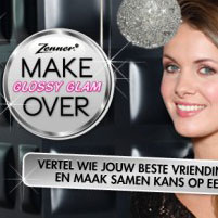 Glossy Glam campagne voor Zenner